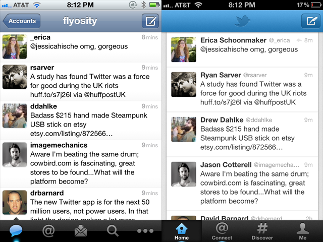 Twitter For Iphone Takes A Step Back Flyosity By Mike Rundle