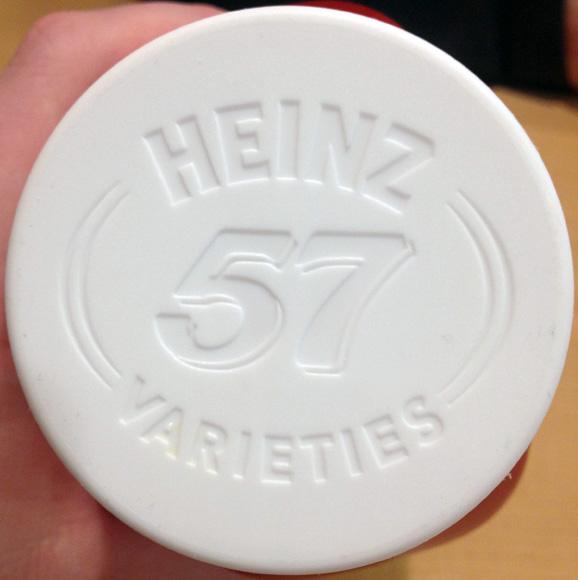 Heinz Ketchup bottle cap