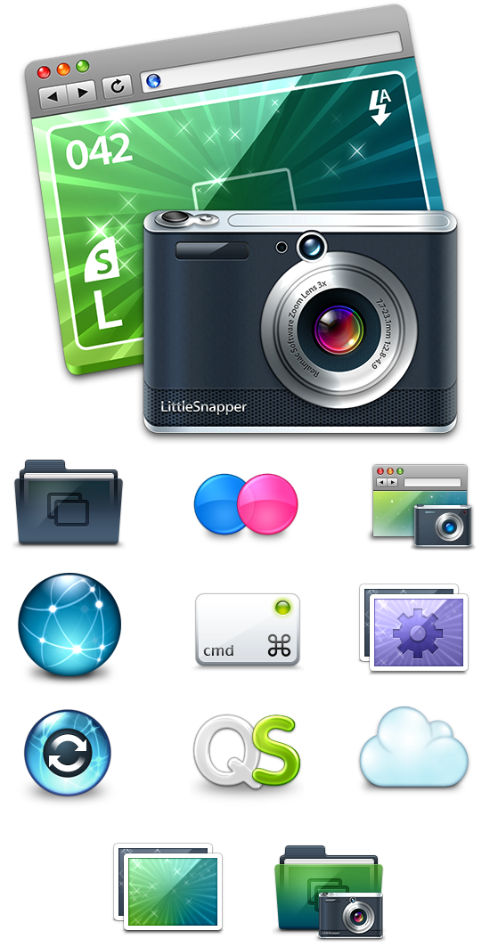 LittleSnapper icons